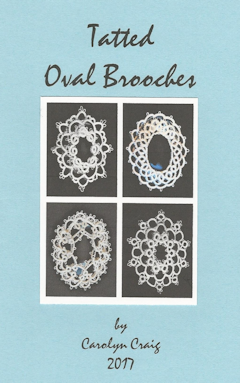 Tatted Oval Brooches (Craig)