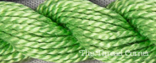 Perle Cotton Skein Size 3 - Forest Green (989)