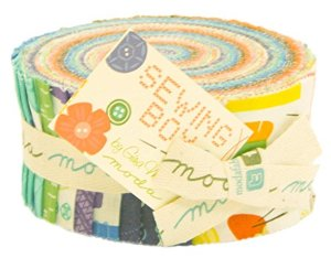 Moda Sewing Box - Jelly Roll
