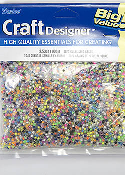Darice CraftDesigner Glass Seed Beads