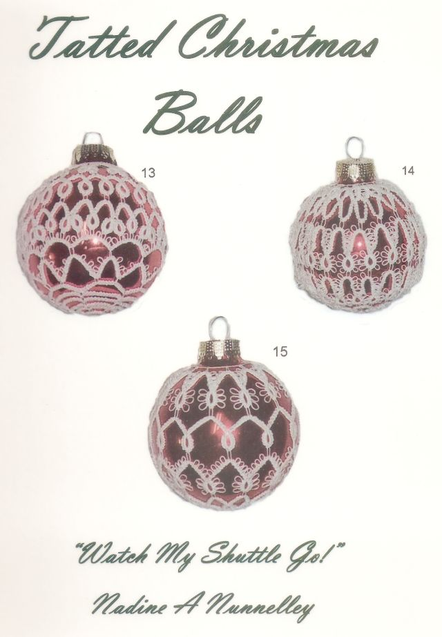 Tatted Christmas Balls (Nadine Nunnelley)