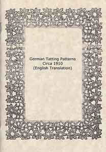 German Tatting Book Circa 1910