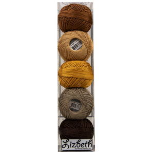 Lizbeth Specialty Pack - Peanut Butter Pieces Mix - Size 40