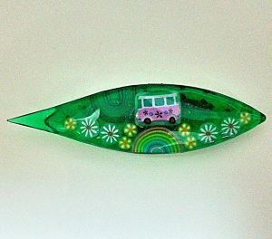 Japanese Tatting Shuttle - Lg. Bus